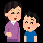 母親と男の子